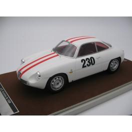 Alfa Romeo Giulietta SZ Friburgo-Schauinsland 1962