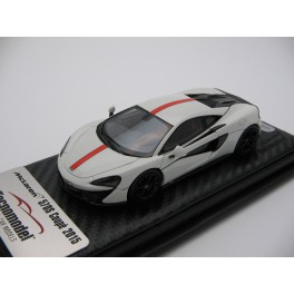 McLaren 570S Coupè Avus White, red stripe  2015